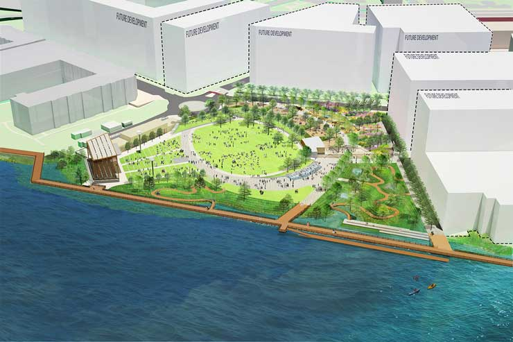 North Waterfront Park Hargreaves Associates